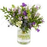 Boeket spring lila tinten vanaf €17,50