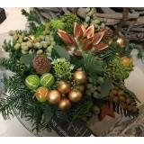 Kerstarrangement  vanaf  €35.00 (nr.203)