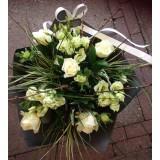 Romantisch wit boeket vanaf  €17,50