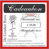 Bloemen/kadobon van af €15.00